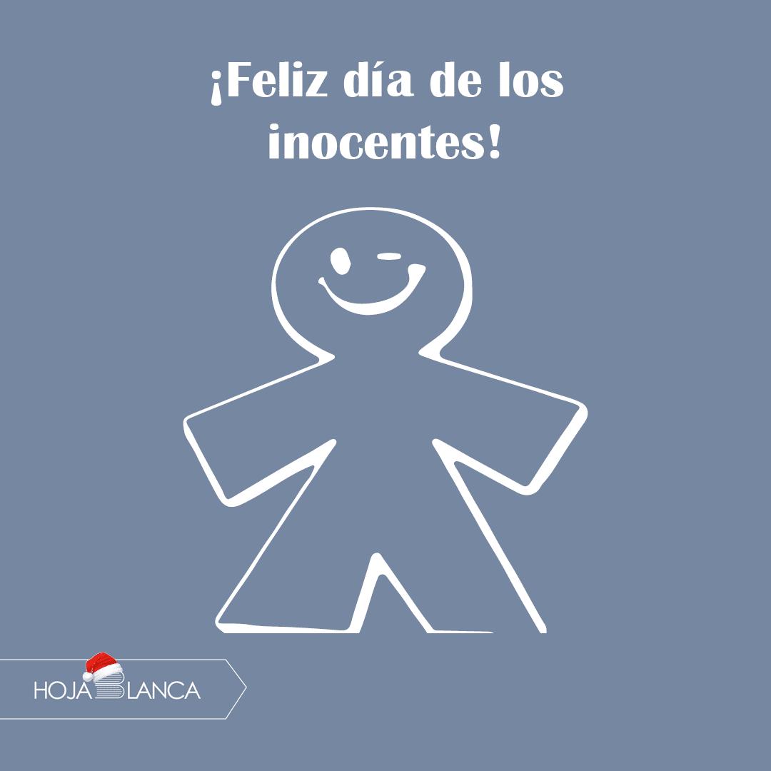 ¡Feliz día de los inocentes!