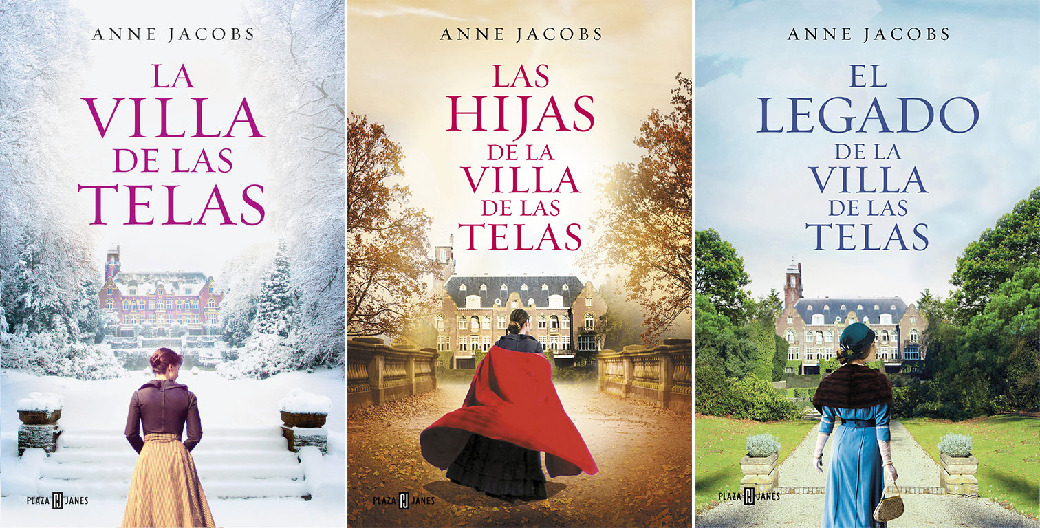 Saga De La Villa De Las Telas De Anne Jacobs Librería Hojablanca