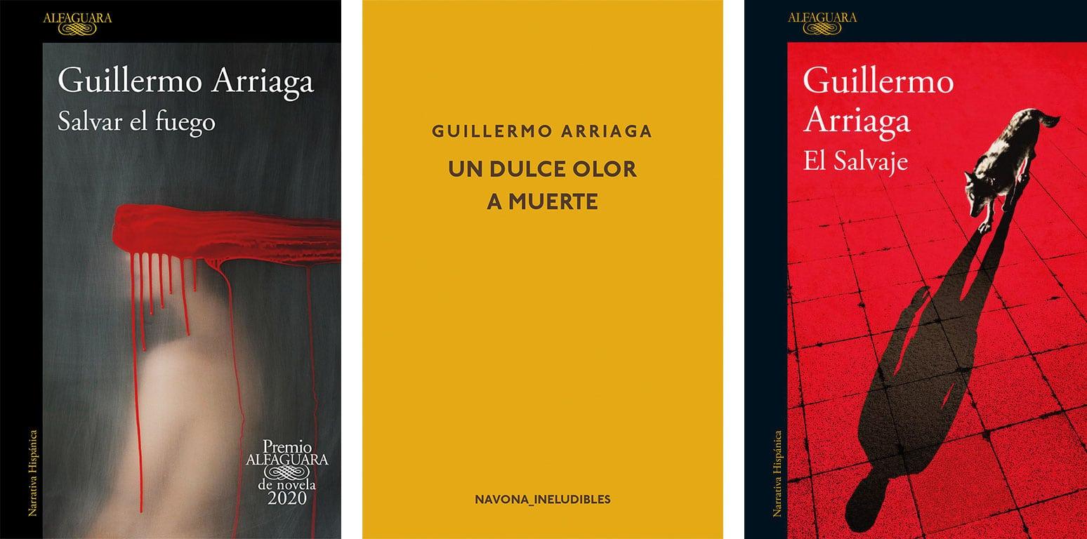 libros de Guillermo Arriaga