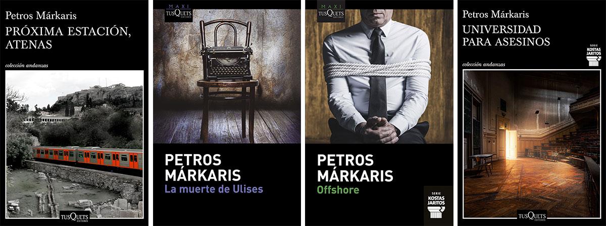 libros de Petros Markaris