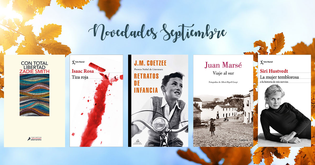 libros septiembre 2020