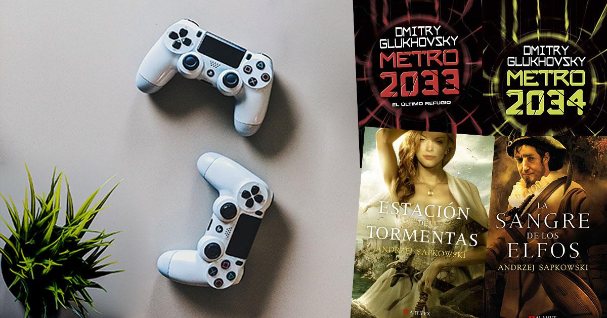videojuegos libros