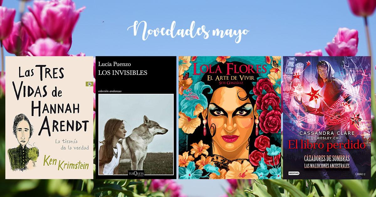 novedades literarias mayo